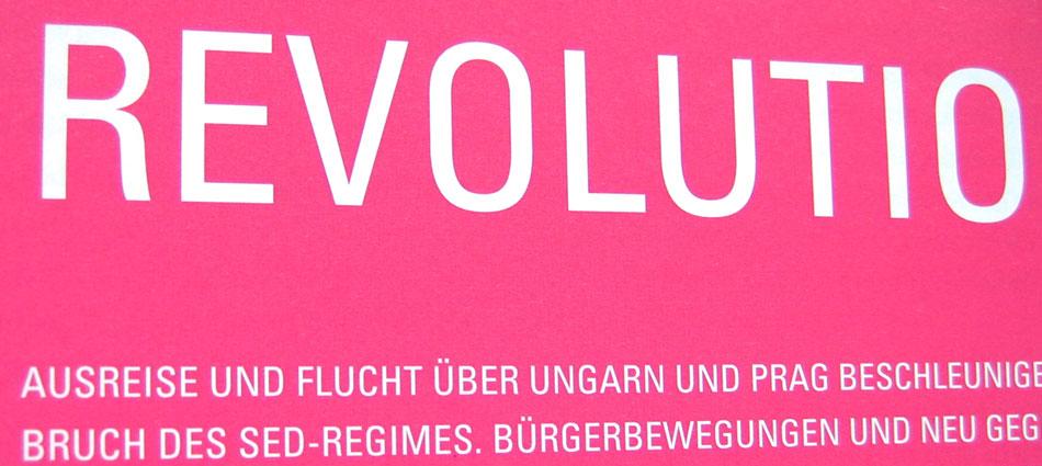 Friedliche Revolution